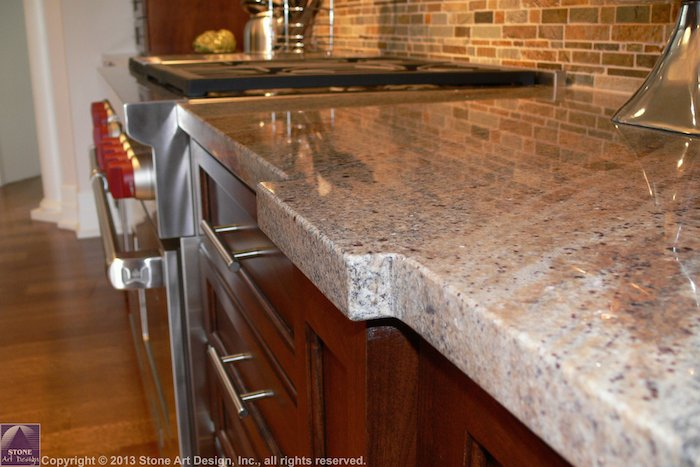 Countertop Eased Edge : Eased Edge