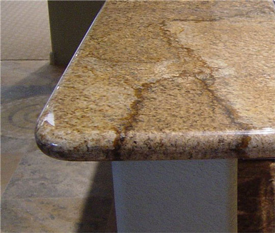 Countertop Bullnose Options : Custom Edges St Louis MO Countertops, Bars, Bathrooms