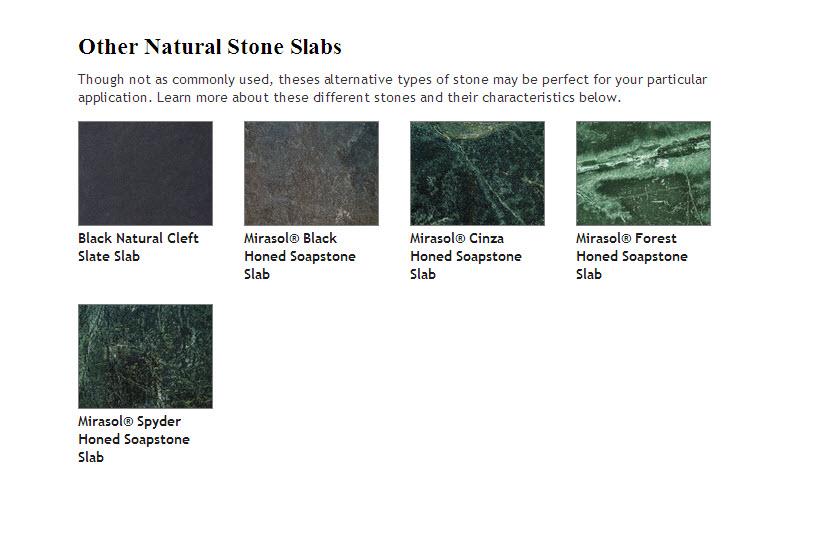 Slate and Soapstone 1