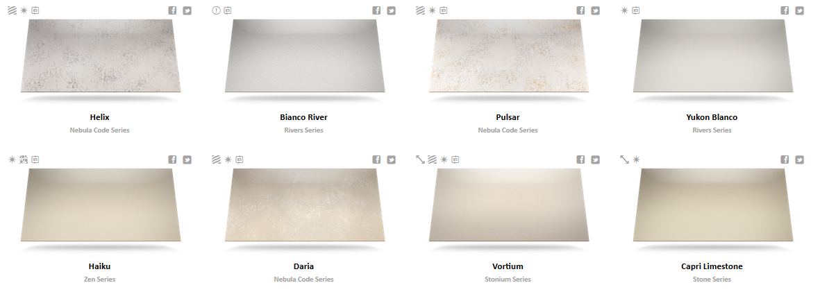 Silestone Color Chart 1