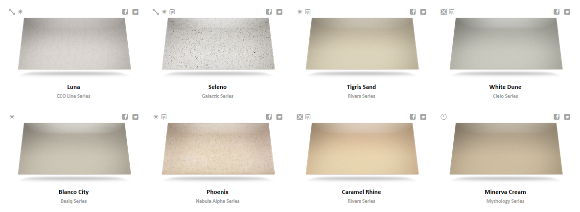 Silestone Color Chart 2