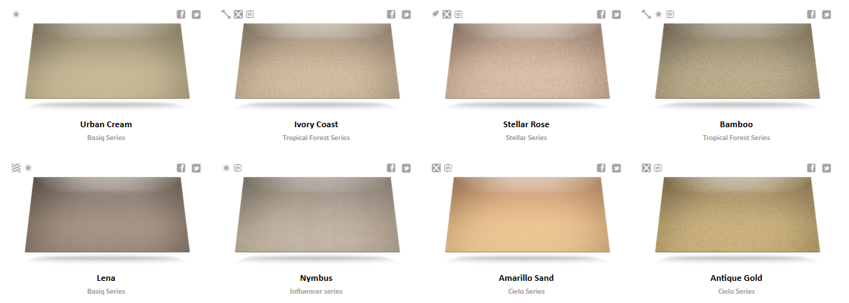 Silestone Color Chart 3