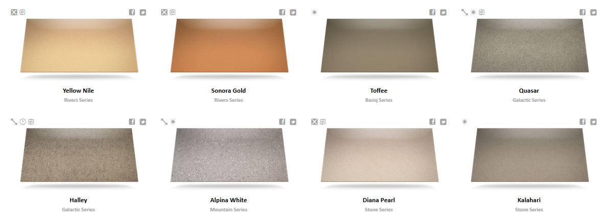 Silestone Color Chart 4