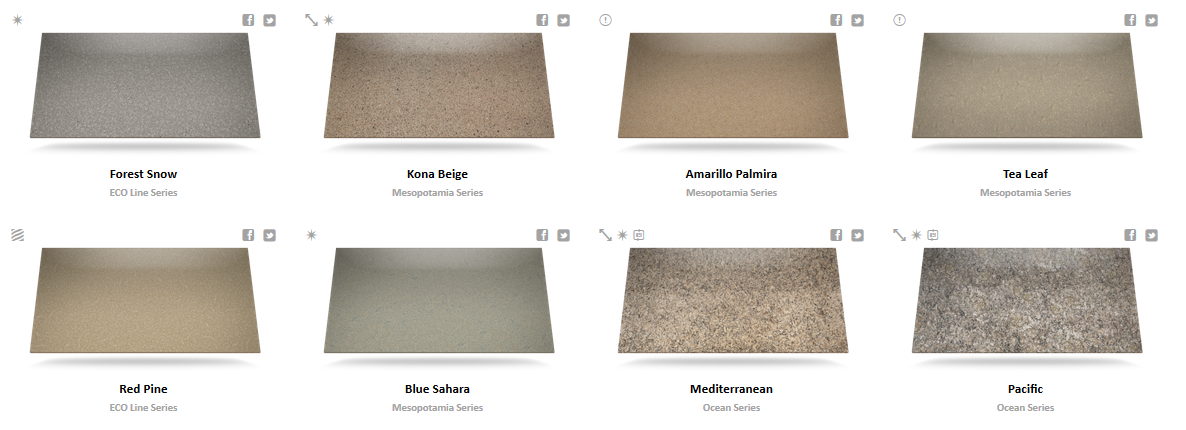 Silestone Color Chart 5