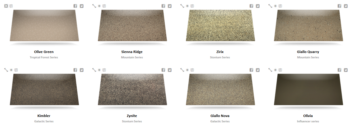 Silestone Color Chart 6