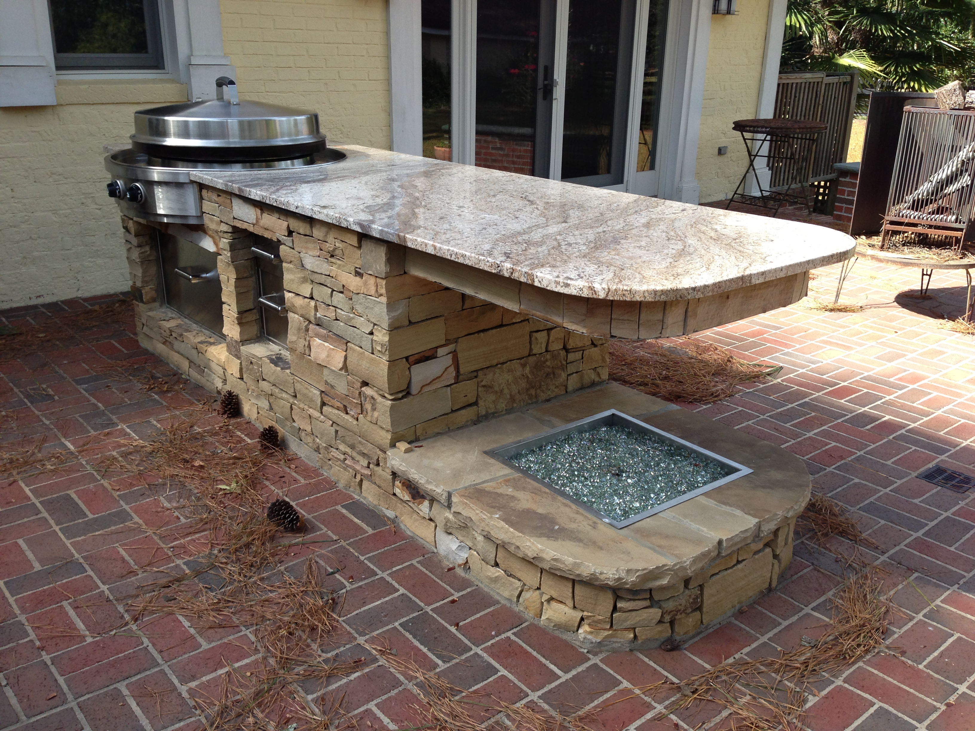 Granite Marble Outdoor Kitchen St Louis Mo Contractor